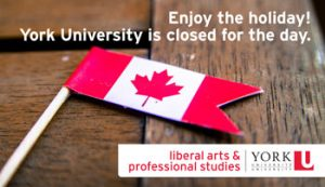 Canada Day: University Closed
