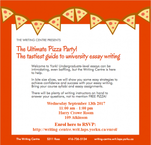 the ultimate pizza party the tastiest guide to university essay undergraduate level essays can be intimidating even baffling however the writing centre is here to help in bite size slices we will show you some easy