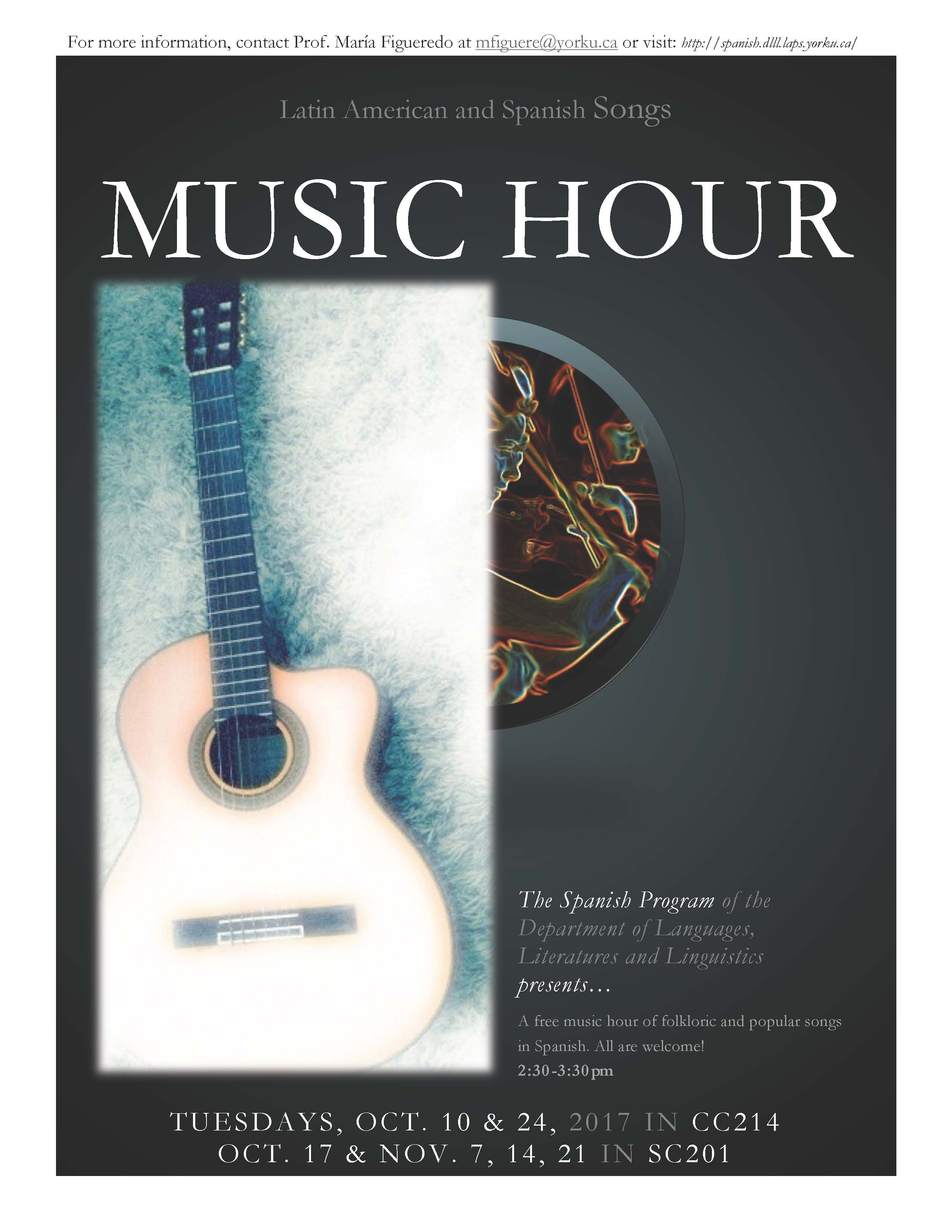 Music Hour Poster