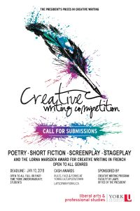 Cash Prizes in Creative Writing Contest for Students - Call for Submissions