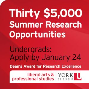 Undergrads: Apply for $5,000 Research Award