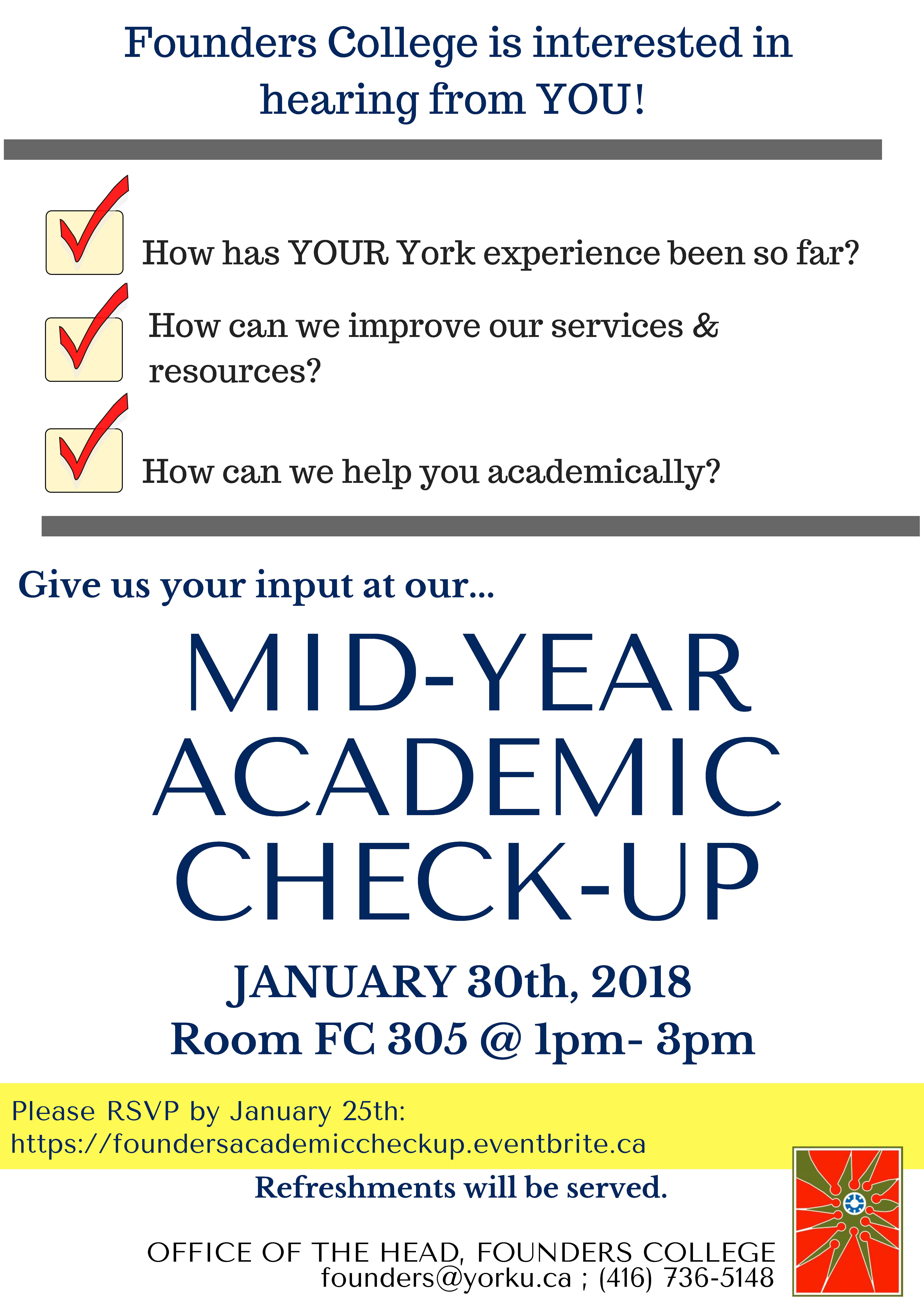 Mid Year Academic Check-Up