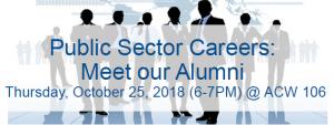 Public Sector Careers: Meet our Alumni @ Accolade West Building (ACW) 106, York University   Toronto   Ontario   Canada