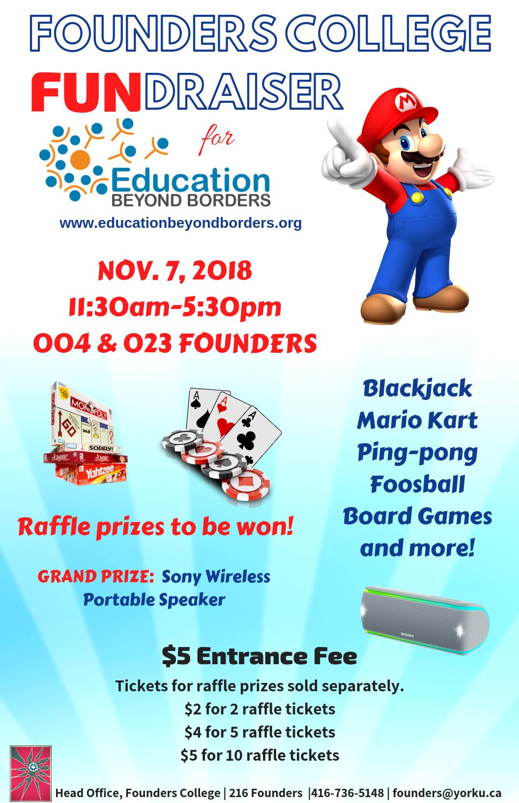 Founders Fundraiser - Nov 7