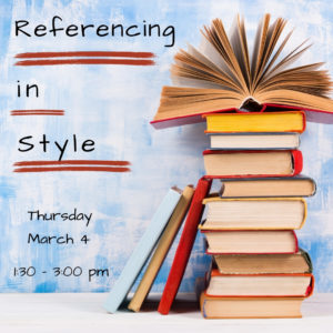 Referencing in Style @ Writing Centre Online