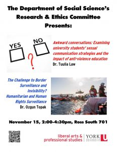 SOSC Research Presentation Day @ 701 Ross South