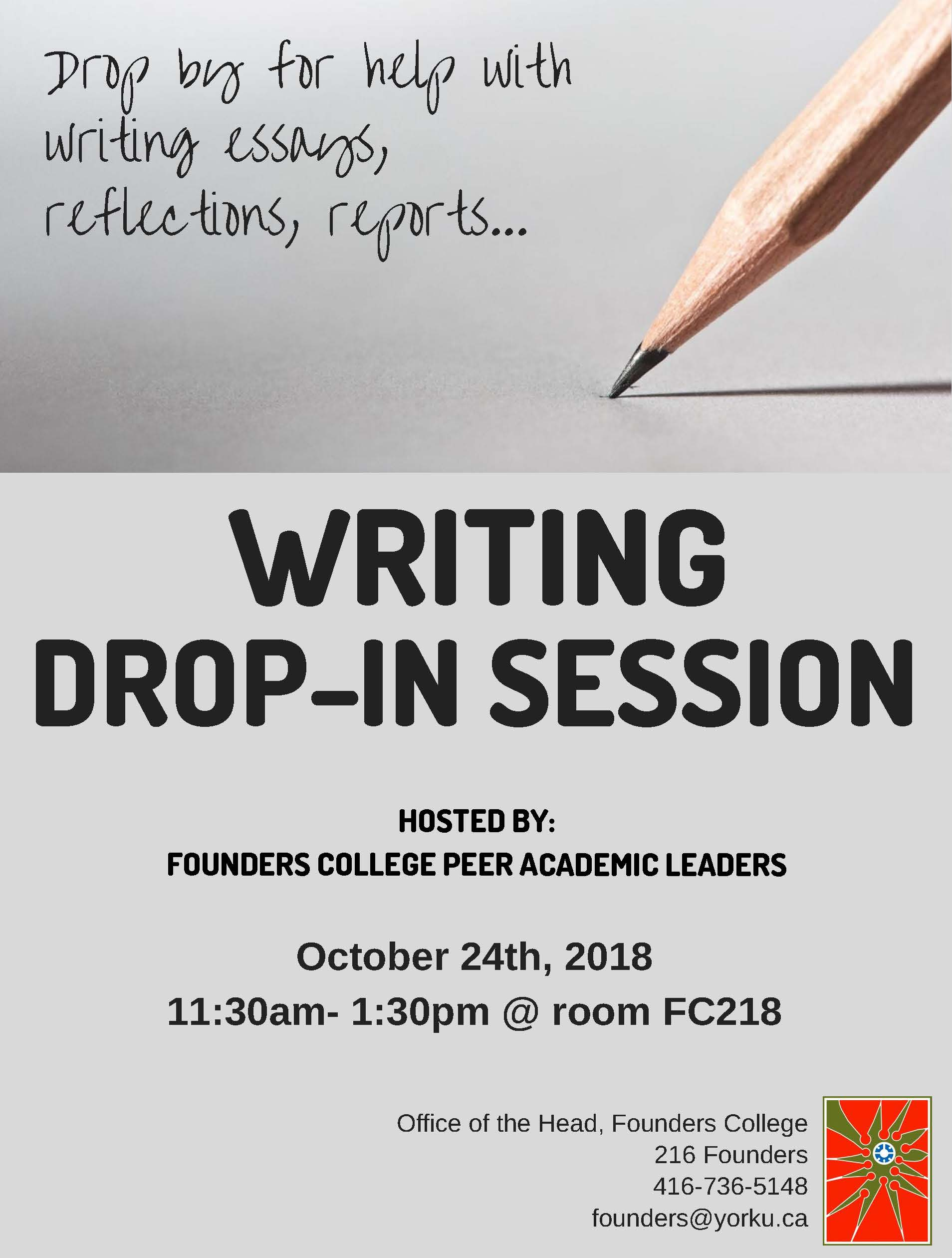 WRITING DROP-IN - Khadeja
