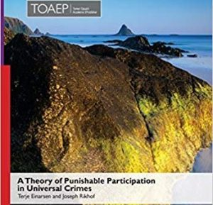 A Theory of Punishable Participation in Universal Crimes – A Book Launch @ 140 McLaughlin College, Senior Common Room