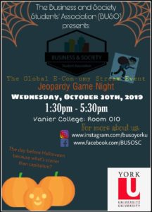 BUSO Students' Association Jeopardy Game Night! @ Vanier College 010