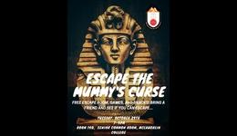 Escape the Mummy's Curse @ McLaughlin College Peer Mentor Network