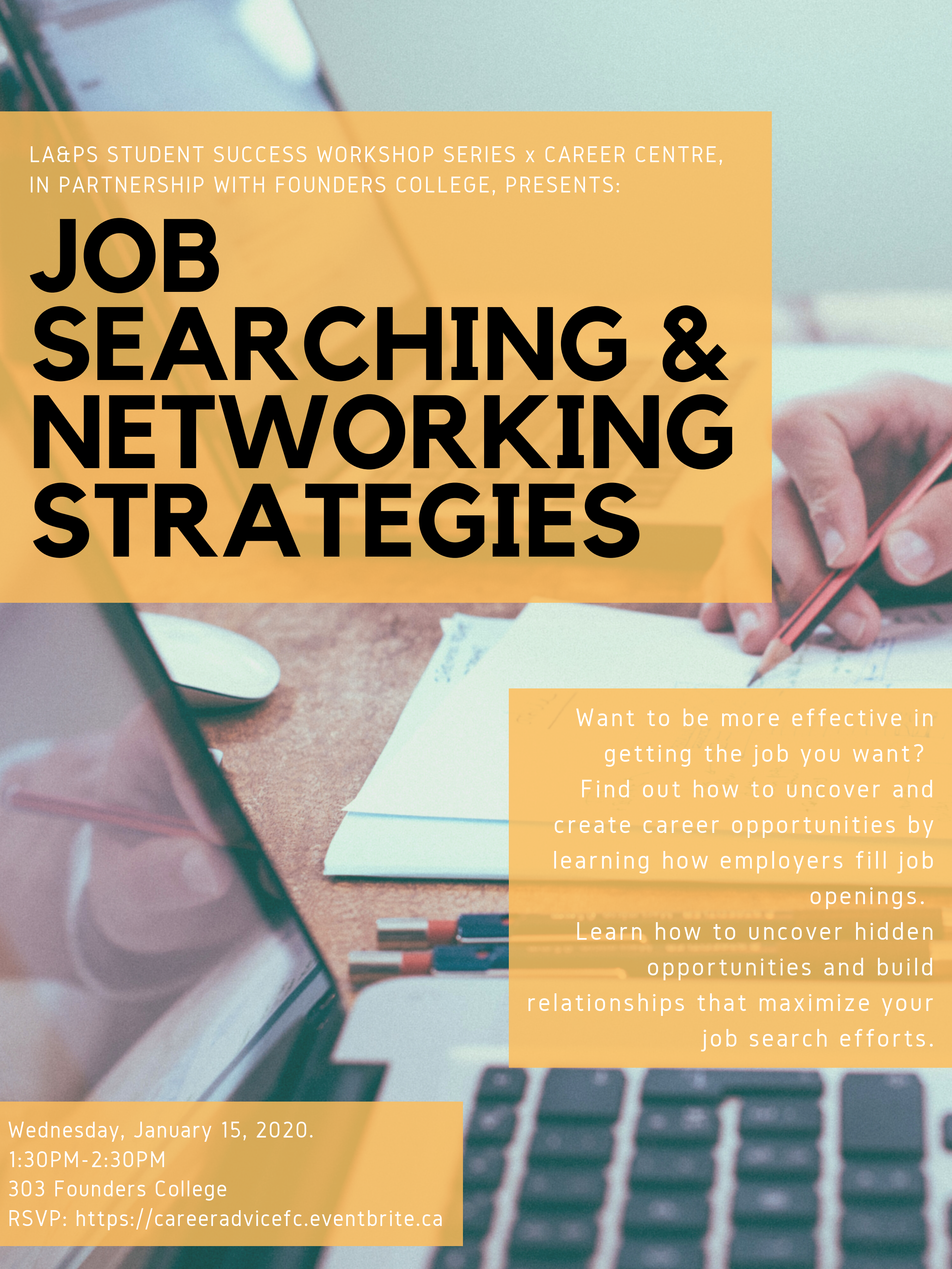 Job Searching and Networking Strategies - January 15_1