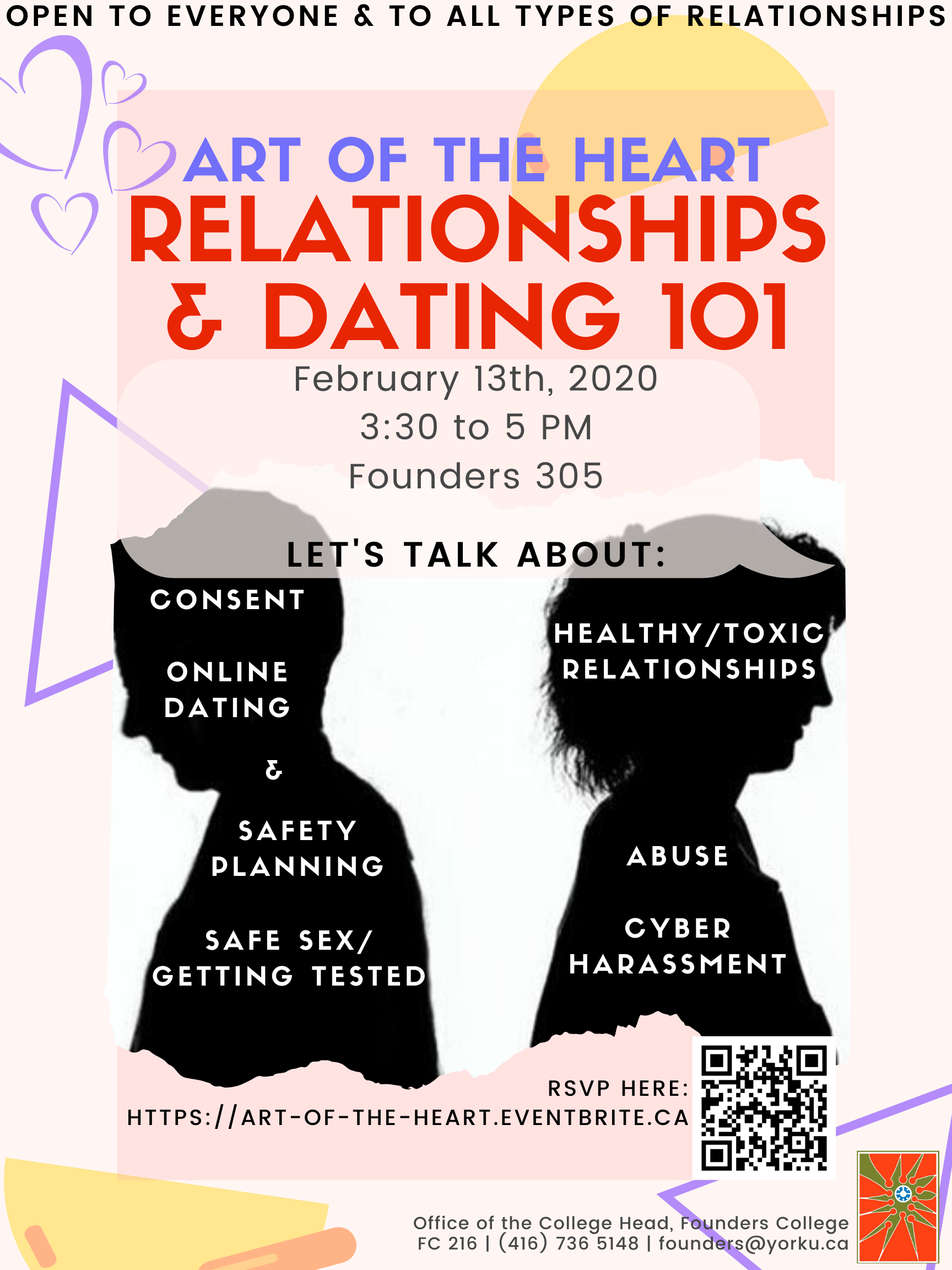 Healthy Relationships Poster