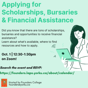 Applying for Scholarships, Bursaries and Financial Assistance