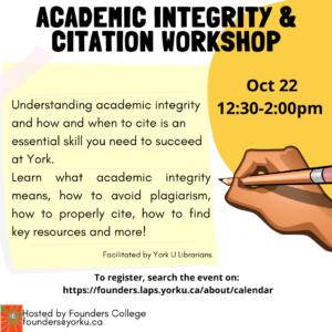 Academic Integrity & Citation Workshop