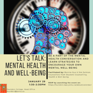 Let's Talk About Mental Health and Well-being