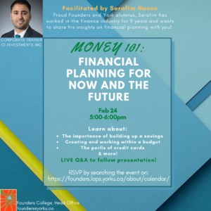 Money 101: Financial Planning for Now and the Future